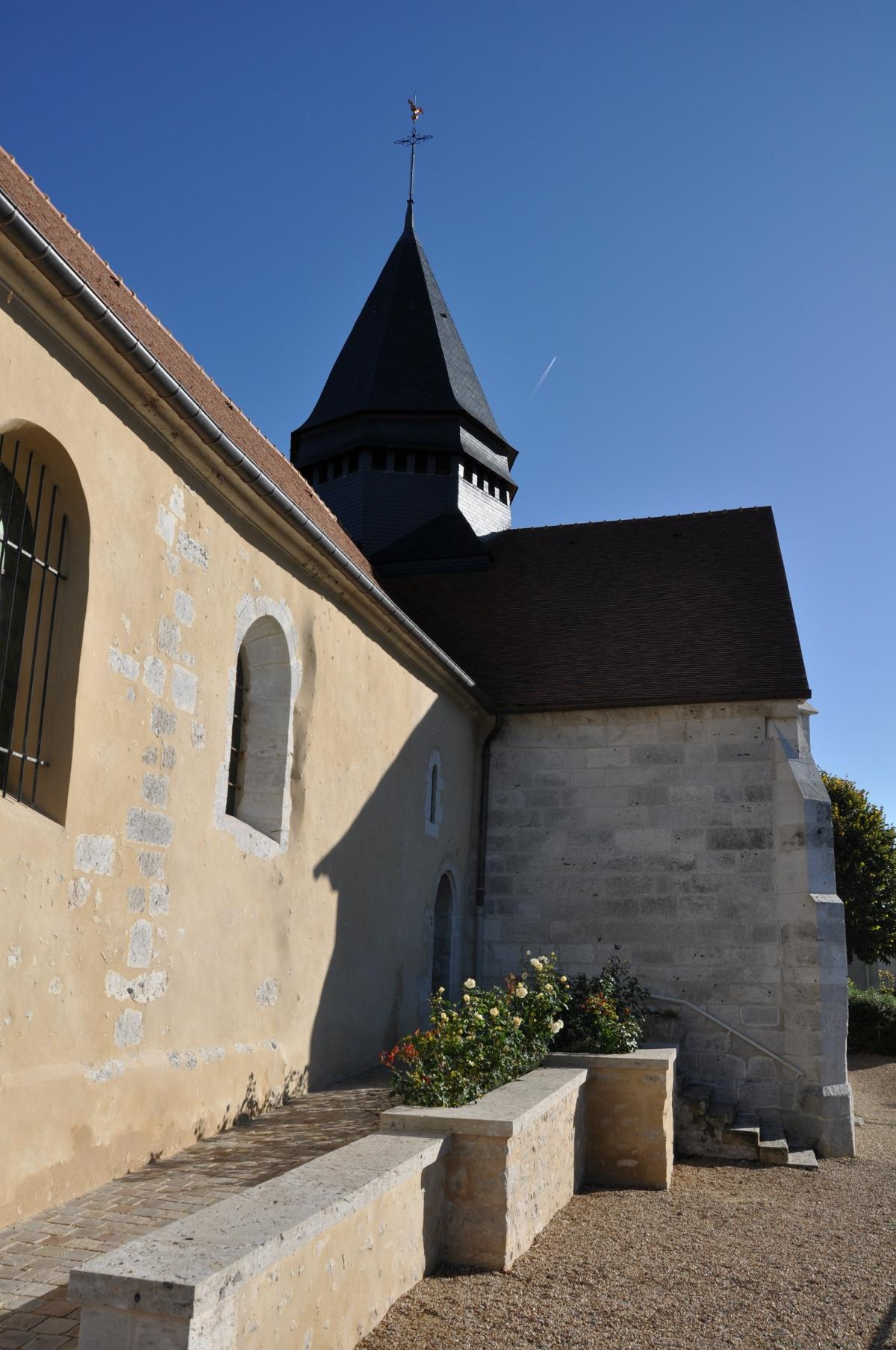 JFK, Monet dream. Giverny Church, Location of Claude Monet's grave.