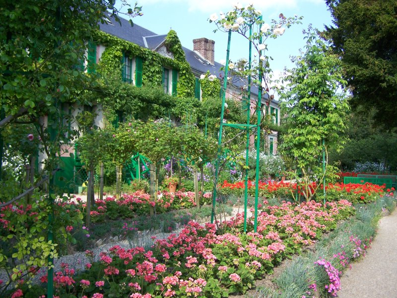 Giverny monet 39 s home for Jardin giverny