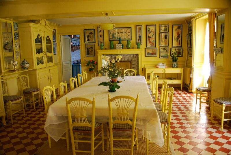Monets Yellow Dining Room