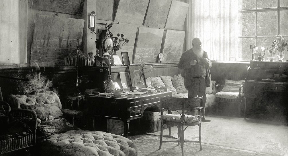 giverny monet in his studio. Black Bedroom Furniture Sets. Home Design Ideas
