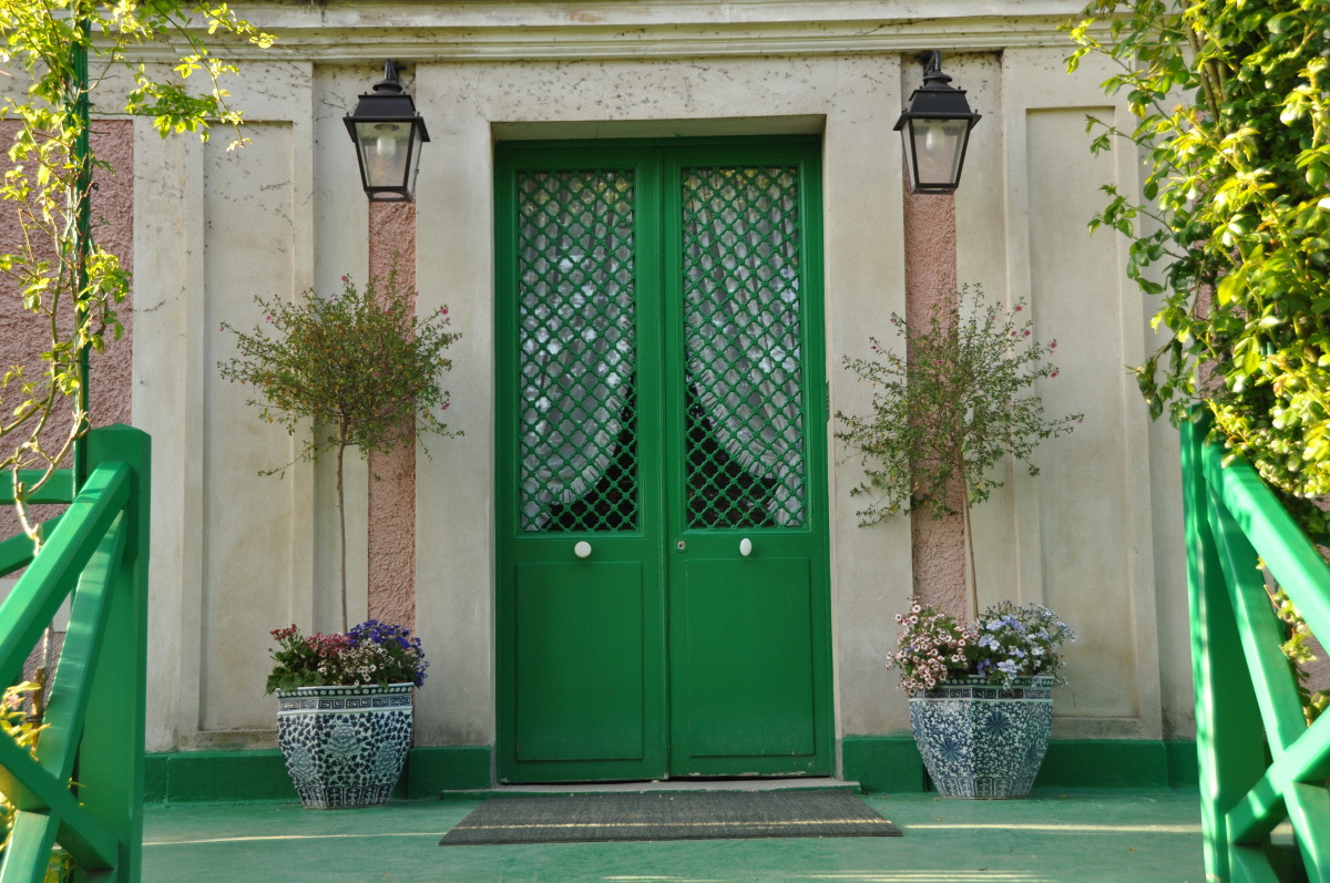 Giverny french country style entry for French style front door