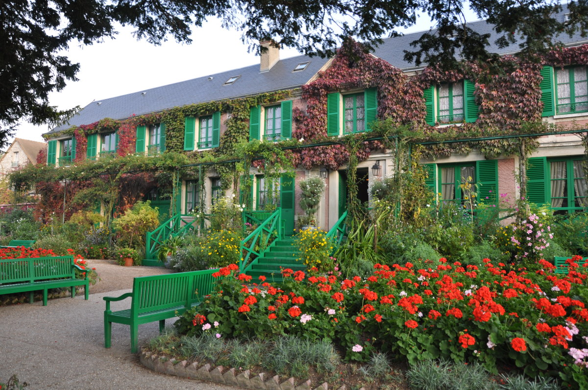 giverny monet garden part 4