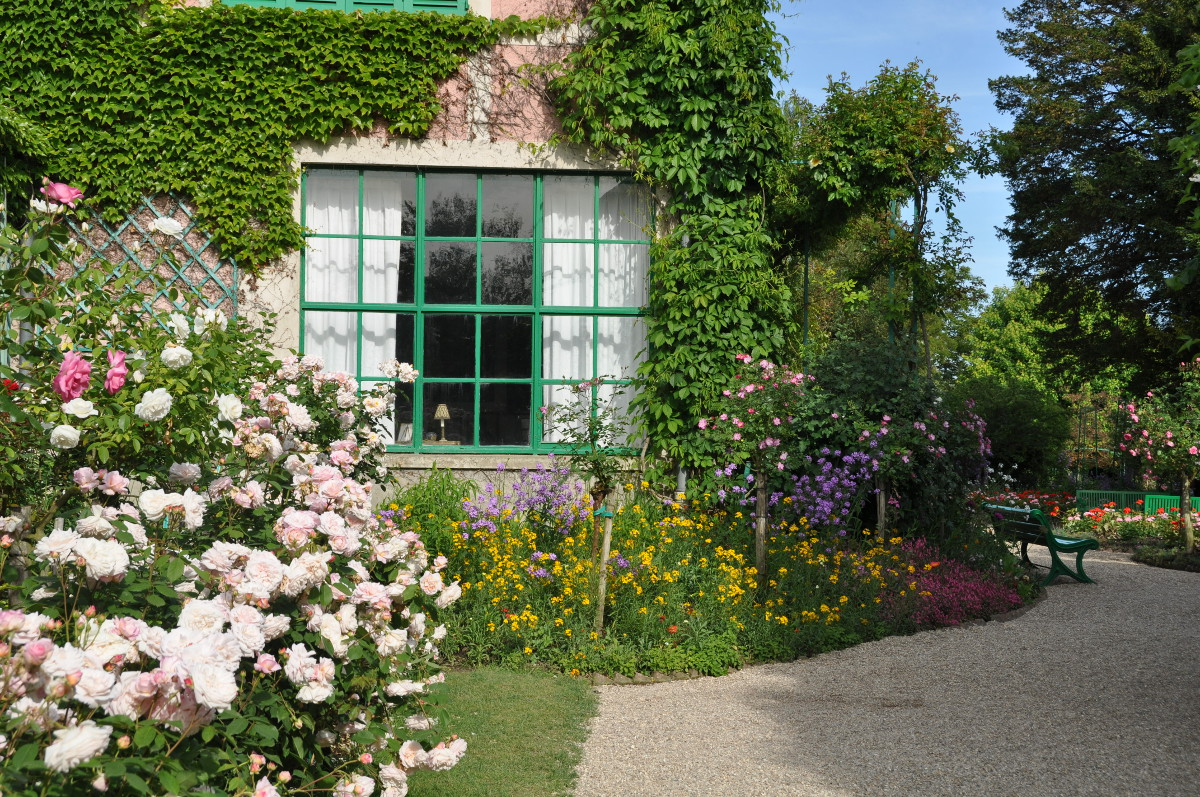 Index of gallery monets house for Monet home