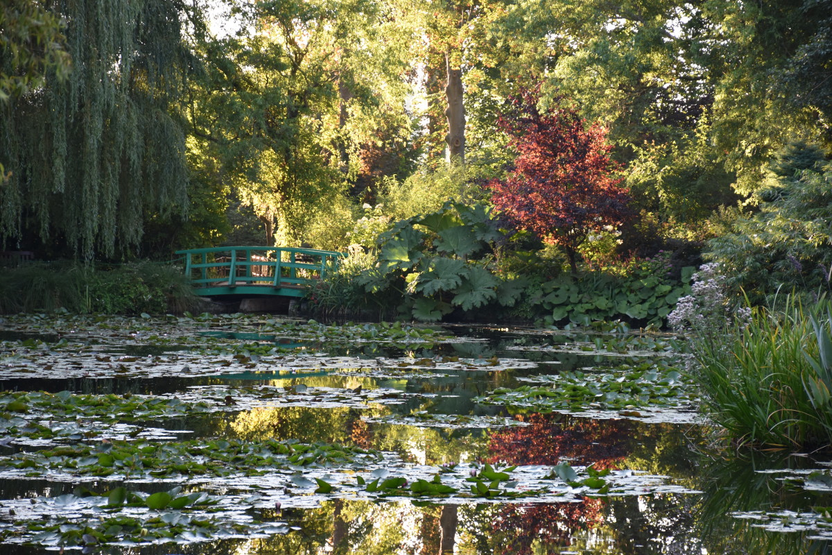 Giverny monet garden for How to water a garden